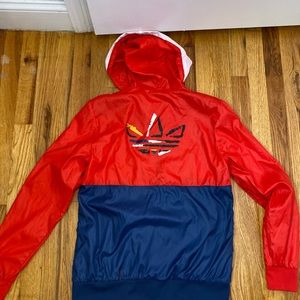 Adidas Colorful Windbreaker